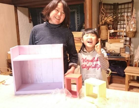 親子木工教室