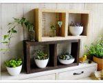 sw05二段自由飾り棚 木工作品