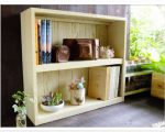 sw21 二段文庫本棚 スマイルウッド木工作品