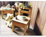 sw32 小さな椅子 スマイルウッド木工作品