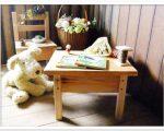 sw33小さなテーブル スマイルウッド木工作品